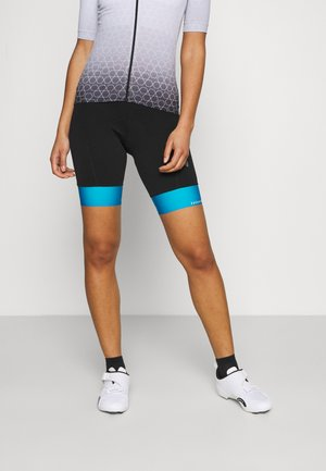BIKE TIGHTS EUROPA - Leggings - black/blue lake