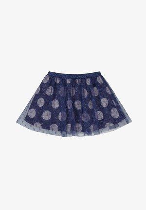 A-line skirt - azul marino