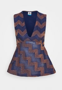 M Missoni - Camicetta - blue/rose gold - 0