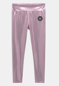 Converse - HIGH RISE  - Leggings - pink - 0