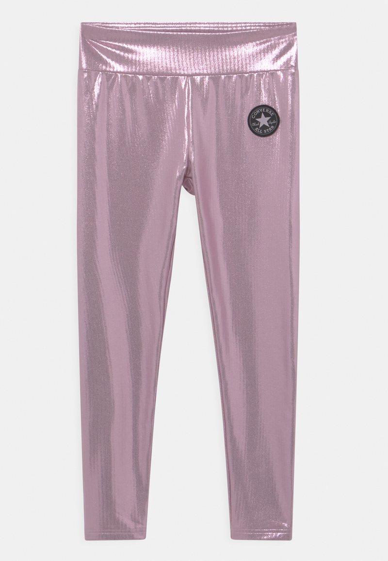 Converse - HIGH RISE  - Leggings - pink