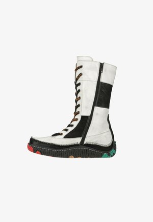 EJECT NEWJECT - Winter boots - white / black