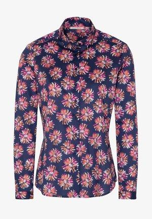 Button-down blouse - royalblau pink