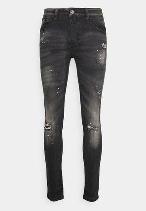 LIMERO - Jeansy Skinny Fit - black wash