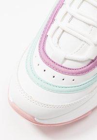 Koi Footwear - VEGAN LIZZIES - Trainers - white/light pink/multicolor - 2