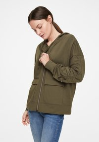 comma casual identity - Zip-up hoodie - khaki - 2