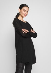 Vila - VIFILAK - Jumper - black - 0