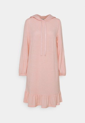 FQLIVANA - Jumper dress - silver/pink