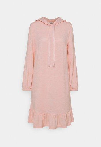 FQLIVANA - Strikket kjole - silver/pink