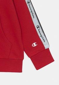 Champion - AMERICAN TAPE HOODED UNISEX - Sweatshirt - red - 2