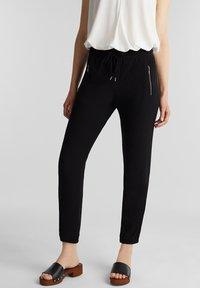Esprit - Teplákové kalhoty - black - 0