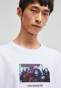 PULL&BEAR - T-shirt print - white - 6