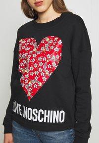 Love Moschino - Mikina - black - 5