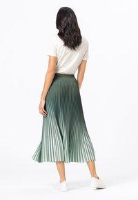 HALLHUBER - A-line skirt - seegrün - 2
