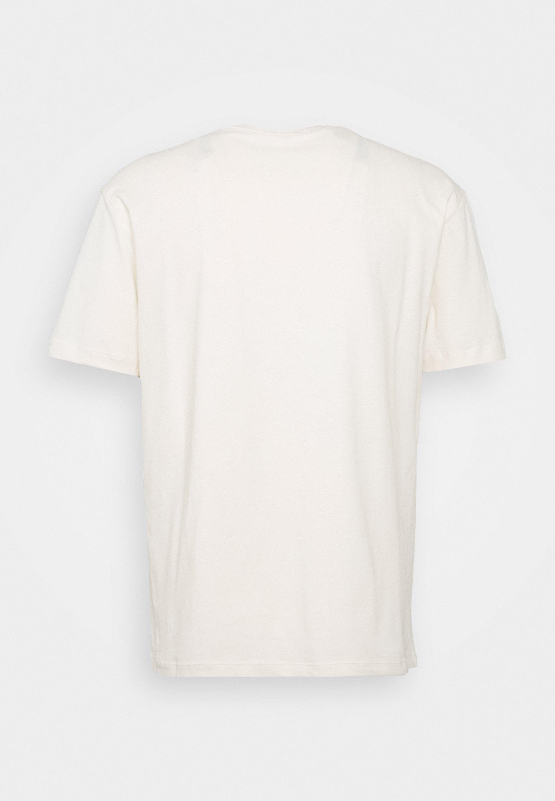 McQ Alexander McQueen DROPPED SHOULDER - T-shirt imprimé - oyster