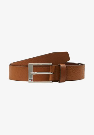 NEW ALY BELT - Gürtel business - dark tan