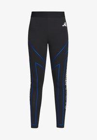 adidas Performance - GRAPHIC - Leggings - black - 4