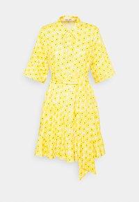 Diane von Furstenberg - BEATA DRESS - Shirt dress - sunshine yellow - 3