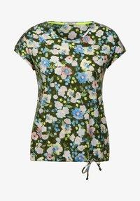Cecil - Print T-shirt - grün - 3
