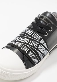 Love Moschino - LABEL SOLE - Trainers - black - 2