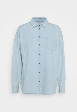 SHIRT ROXY - Button-down blouse - denim blue