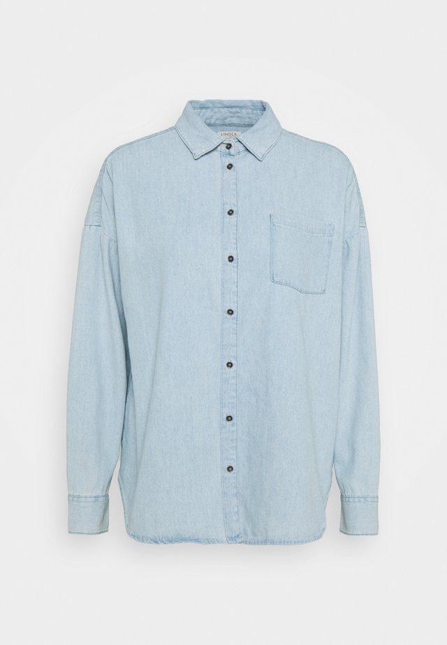 SHIRT ROXY - Button-down blouse - denim blue