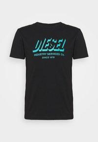 Diesel - DIEGOS UNISEX - Print T-shirt - black - 3