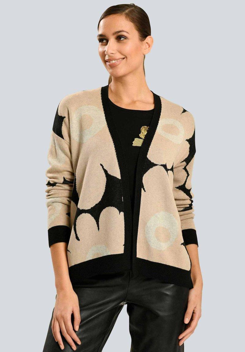 Alba Moda - Cardigan - schwarz beige off-white