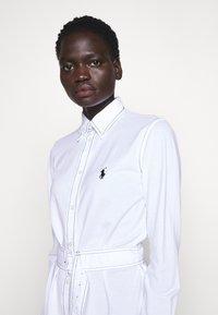 Polo Ralph Lauren - HEIDI LONG SLEEVE CASUAL DRESS - Hverdagskjoler - white - 4
