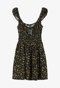 Bershka - Day dress - black - 5