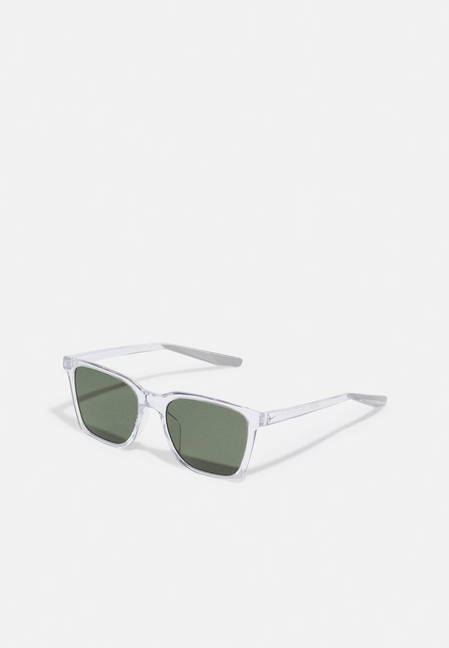 BOUT UNISEX - Zonnebril - clear/wolf grey/green