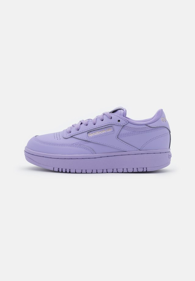 CARDI COATED CLUB C DOUBLE MID SNEAKER - Sneakersy niskie - luminous lilac