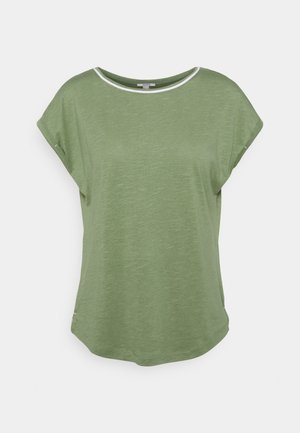 TEE - Basic T-shirt - light khaki