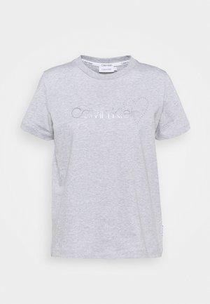 VALENTINES CREW NECK TEE - T-shirts med print - light grey heather