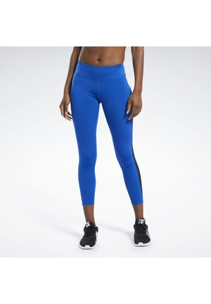 WORKOUT READY LOGO TIGHTS - Leggings - blue