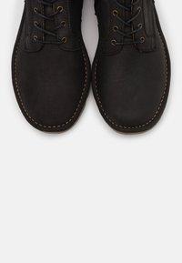 El Naturalista - FOREST - Lace-up boots - black - 5