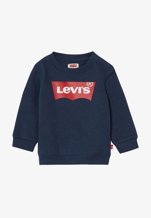 BATWING CREW - Sweater - dress blues