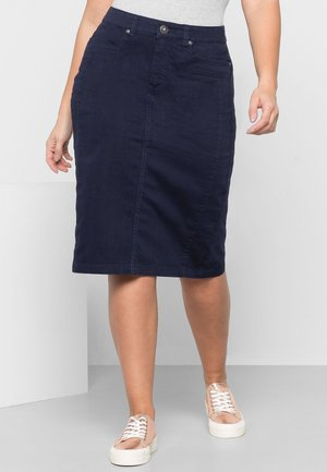 Denim skirt - marine