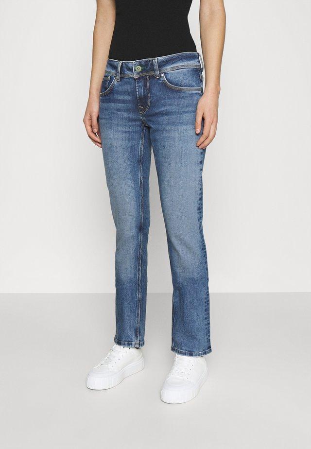 SATURN - Jeans a sigaretta - denim