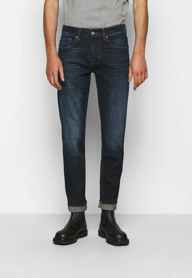 SLIMMY TAPERED CRASH  - Jeans Tapered Fit - dark blue