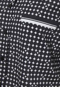 Steffen Schraut - LOULOU SUMMER BLOUSE - Button-down blouse - black - 2