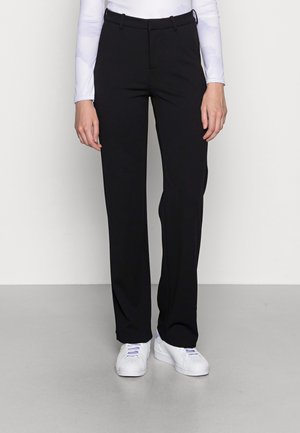 VMZAMIRA SLIM STRAIGHT PANT - Trousers - black
