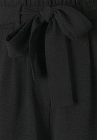 ONLY - ONLLAVENDER PAPERBAG - Shorts - black - 5