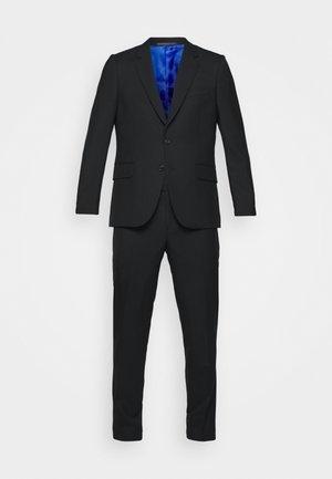 GENTS TAILORED FIT BUTTON SUIT - Costume - black