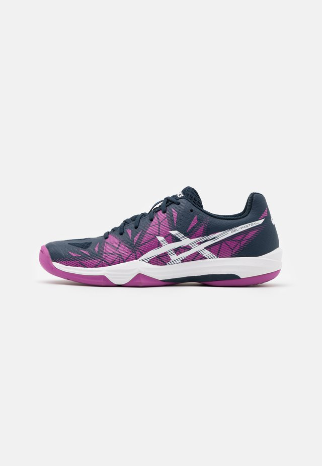 GEL-FASTBALL 3 - Handball shoes - digital grape/white