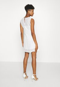 Vero Moda - VMALLIE SHORT DRESS - Day dress - snow white - 2