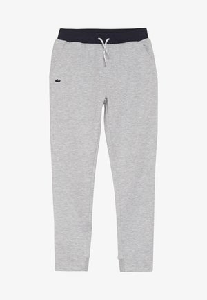 TRACKSUITS TRACK TROUSERS - Pantalones deportivos - argent chine/marine