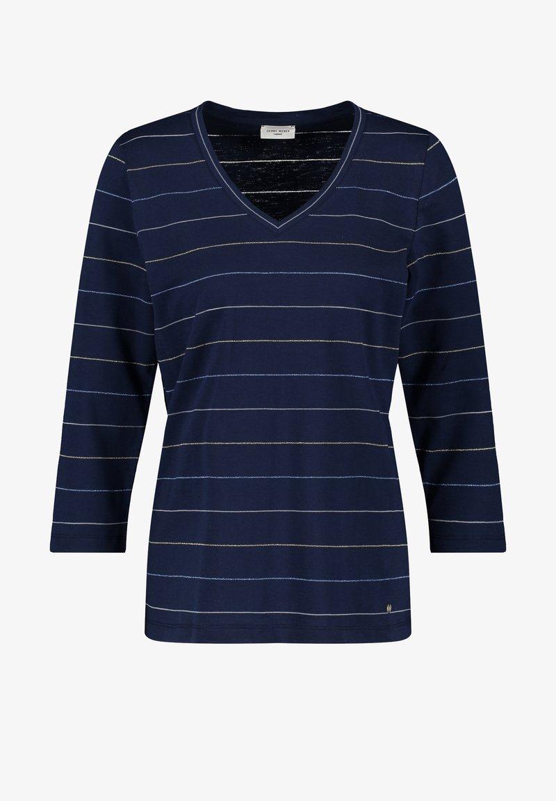 Gerry Weber - Long sleeved top - blau ringel