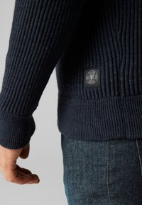 Marc O'Polo - Zip-up hoodie - dark blue