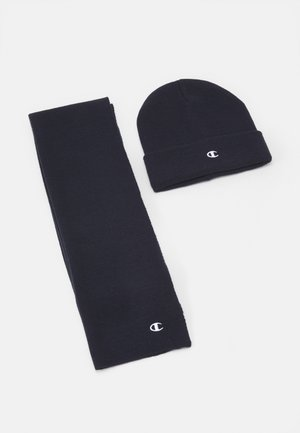 GIFT SET UNISEX - Bonnet - navy